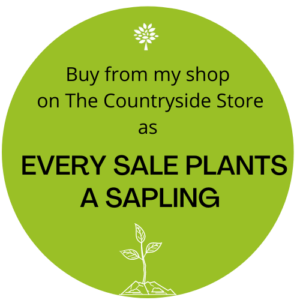 EVERY SALE PLANTS A SAPLING When you make a purchase from one of our sellers on The Countryside Store we will purchase a hedgerow sapling on your behalf. https://www.thecountrysidestore.co.uk/every-sale-plants-a-sapling/