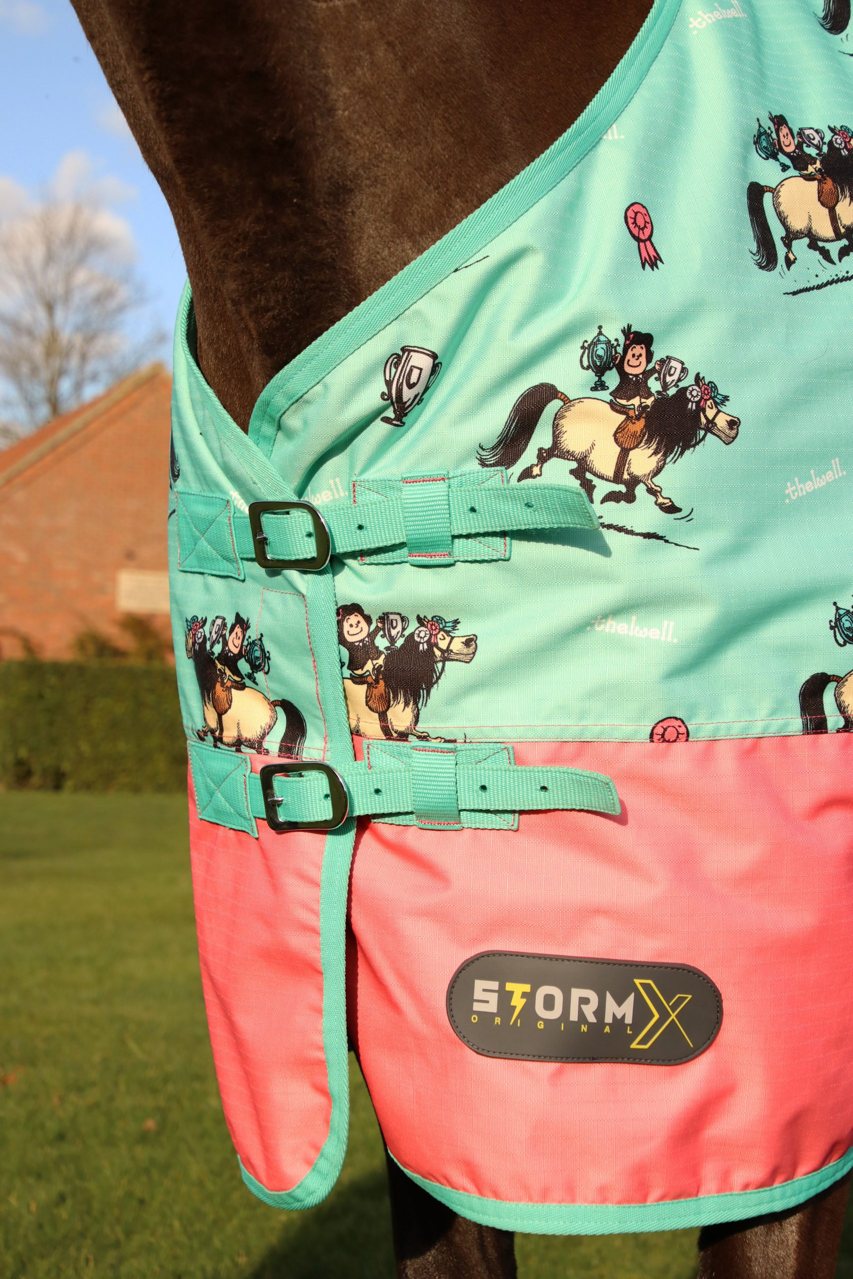 StormX Original Thelwell Turnout Rug 0g 6/'6
